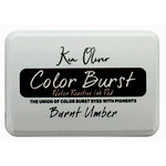 Ken Oliver - Color Burst - Water Reactive Ink Pad - Burnt Umber