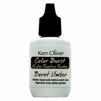 Ken Oliver - Color Burst - Reinker - Burnt Umber