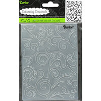 Darice - Embossing Folder - Scroll Background