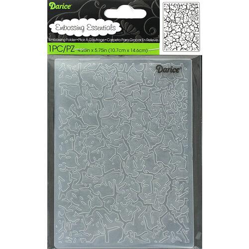Darice - Embossing Folder - Crackle