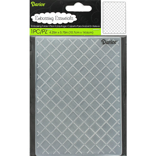 Darice - Embossing Folder - Wire Fence