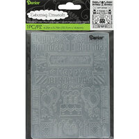 Darice - Embossing Folder - Birthday Collage