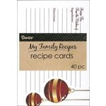 Darice - Recipe Cards - Holiday - Elegant