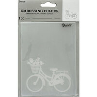 Darice - Embossing Folder - Bike