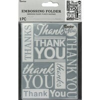 Darice - Embossing Folder - Thank You
