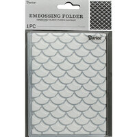 Darice - Embossing Folder - Mermaid Scales