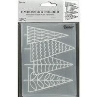 Darice - Christmas - Embossing Folder - Trees