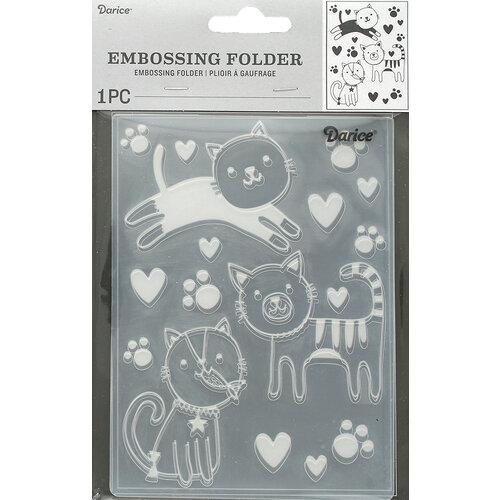 Darice - Embossing Folder - Cats