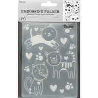 Darice - Embossing Folder - Cats