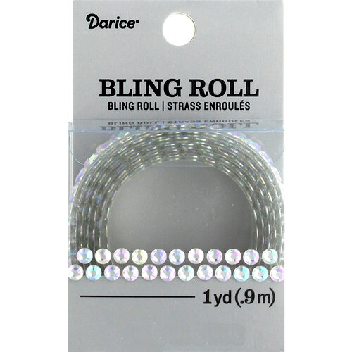Darice - Bling Stickers - Roll - Double Row - 1 yard