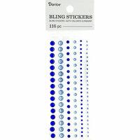 Darice - Bling Stickers - Rhinestone - Blue