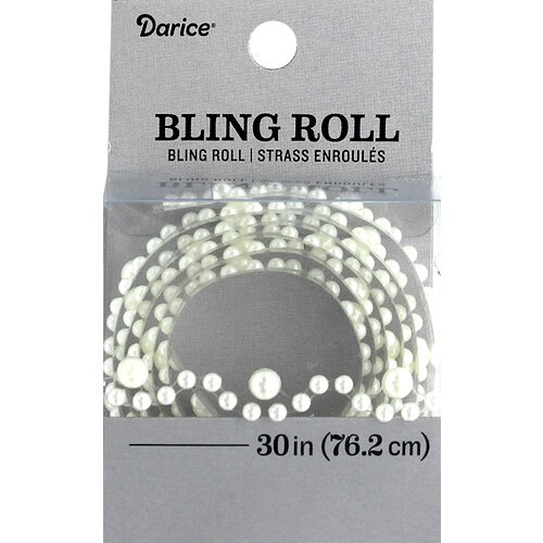 Darice - Bling Stickers - Roll - Eyelet - White Pearl