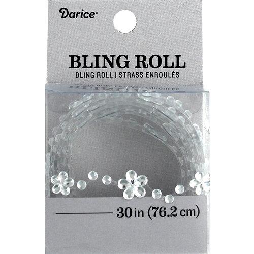 Darice - Bling Stickers - Roll - Rhinestone - Daisy