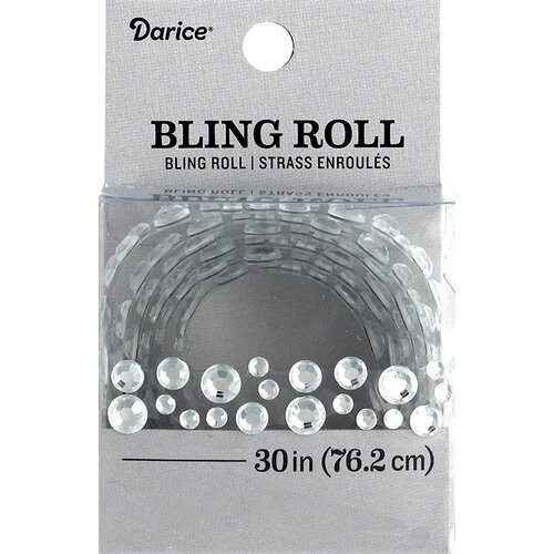 Darice - Bling Stickers - Roll - Rhinestone - Cluster