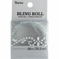Darice - Bling Stickers - Roll - Rhinestone - Flourish