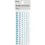 Darice - Bling Stickers - Rhinestone - Turquoise