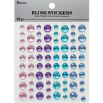 Darice - Bling Stickers - Rhinestone - Pastel
