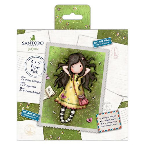 Santoro London - Gorjuss - 6 x 6 Paper Pack
