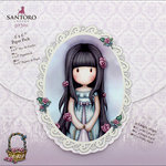 Santoro London - Gorjuss Garden - 6 x 6 Paper Pack