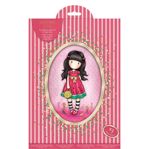 DoCrafts - Santoro Gorjuss - A4 Collection Pack with Foil Accents