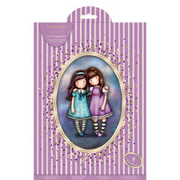 DoCrafts - Santoro Gorjuss - A4 Decoupage Pack with Foil Accents