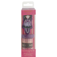 DoCrafts - Santoro Gorjuss - Craft Tape - Reel - Sugar and Spice with Foil Accents
