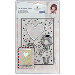 Santoro London - Gorjuss Die and Embossing Folder - Heart