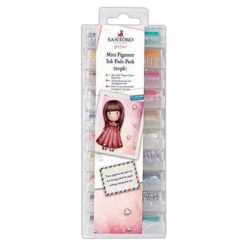 Santoro London - Gorjuss - Mini Pigment Ink Pads Pack