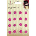 Santoro London - Gorjuss Garden - Mini Flower Stickers