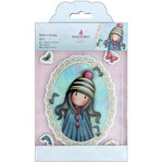 Santoro London - Gorjuss Garden - Rubber Stamp - Pom Pom