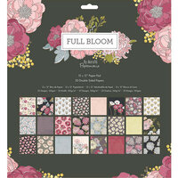 DoCrafts - Full Bloom Collection - 12 x 12 Paper Pad