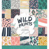 DoCrafts - Wild Prints Collection - 12 x 12 Paper Pad