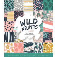 DoCrafts - Wild Prints Collection - 6 x 6 Paper Pad