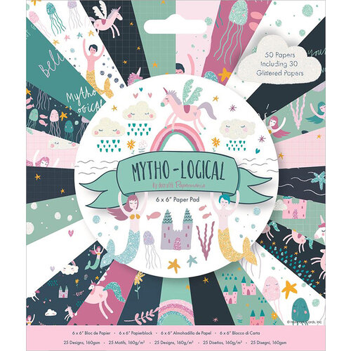 DoCrafts - Mytho-Logical Collection - 6 x 6 Paper Pad