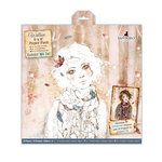 Santoro London - Willow - 6 x 6 Paper Pack with Glitter Accents