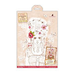 Santoro London - Willow - A4 Decoupage Pack with Glitter Accents