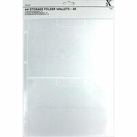 Docrafts - Xcut - A4 Storage Folder Wallets - A5