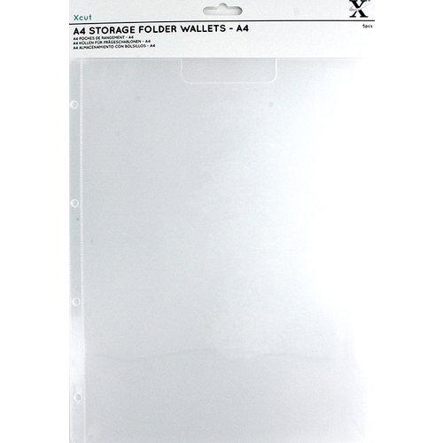 Docrafts - Xcut - A4 Storage Folder Wallets - A4