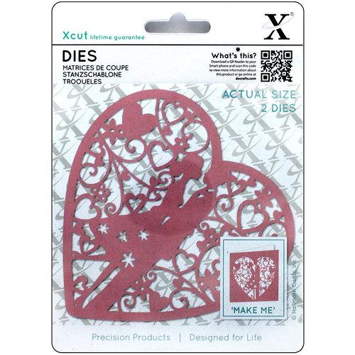 Docrafts - Xcut - Die Set - Couple In Heart