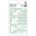 DoCrafts - Xcut - Die Set - Large - Floral Panel 2