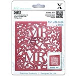 Docrafts - Xcut - Die Set - Mr and Mrs
