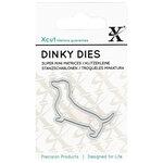 DoCrafts - Xcut - Die Set - Dinky - Dachshund Dog