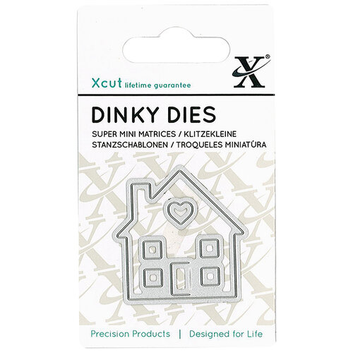 DoCrafts - Xcut - Die Set - Dinky - House