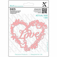 DoCrafts - Xcut - Die Set - Love Heart
