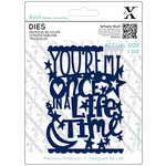 DoCrafts - Xcut - Die Set - Once In A Lifetime