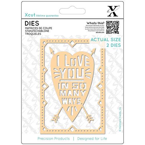 DoCrafts - Xcut - Die Set - I Love You