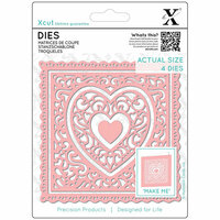 DoCrafts - Xcut - Die Set - Heart Frames