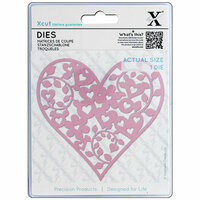 DoCrafts - Xcut - Die Set - Floral Love Heart