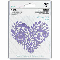 DoCrafts - Xcut - Die Set - Folk Heart