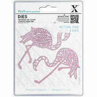 DoCrafts - Xcut - Die Set - Tropical Flamingo